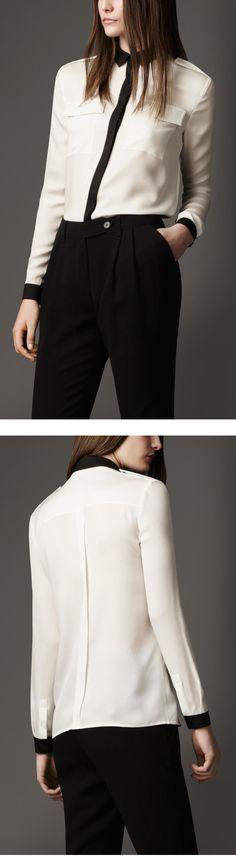 Рубашка женская классическая, креп-шёлк Индивидуальный пошив в интернет-ателье Namaha3D www.livemaster.ru/namaha