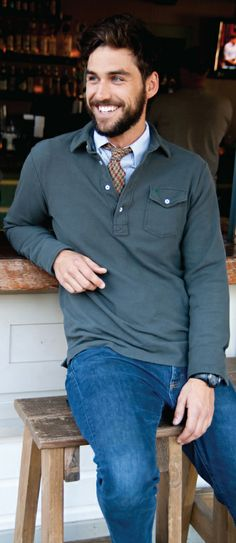 comfortable and casual collared shirts