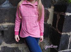 Coccoletta, femininer Sweatpullover, ebook von gialLino (makerist), Sweat von Sawfing, Hoodie, Sweatpulli, (*Werbung*)