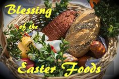 Traditional Slovak-Ukrainian-Russian Easter Basket Food easter dinner Symbolism of the Foods in a Blessed Eastern European Easter Basket Polish Easter Traditions, Poland Food, Holy Saturday, Desserts Ostern, Easter Dinner Recipes, Holiday Recipes, Dessert Recipes, Blessed, Easter Celebration