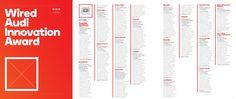 """2014 WIRED. Nel 2014 InformAmuse viene selezionata per il """"Wired Audi Innovation Award""""."""
