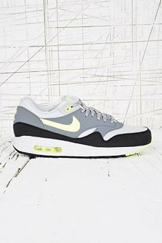 factory authentic 55c34 eade1 Nike Air Max 1 Trainers in Black   Grey at Urban Outfitters Air Max 1,