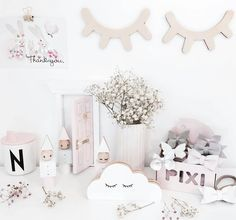 Anyone else with very sleepy eyes after a loooooong weekend of chocolate excited children and friends? Beautiful styling and photography by the lovely @mreiness always gorgeous. Sleepy Eyes by Pretty in Pine available online now x  w w w . m i l k t o o t h . c o m . a u
