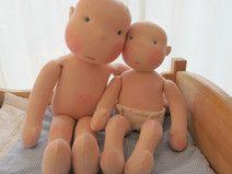 Anleitung Schnittmuster (Baby) Gliederpuppe
