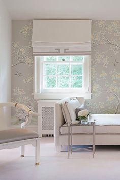 Shade with banding detail | Laura Tutun Interiors