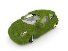 Alternate fuel vehicles, green grass exterior
