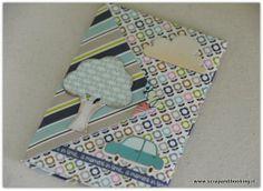 Envelope mini album: tutorial e recensione valigetta creativa | Scrap&Booking - lo scrapbooking di Paola
