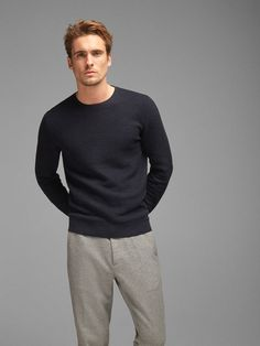 Round neck Sweaters - Sweaters and Cardigans - MEN - Massimo Dutti - Canada