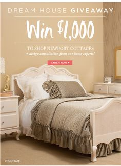 Win $1000 Dream House Giveaway from @NewportCottages! Click through to enter!