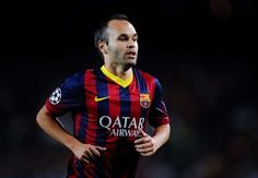 Barca captaincy would be a dream,says Andres Iniesta