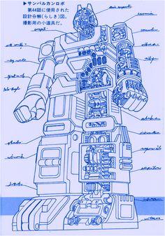 村上克司|太陽戰隊太陽火神機器人|超合金太陽合体|太陽戦隊サンバルカンロボ|Taiyo Sentai-Sun Vulcan Robo|太陽合體