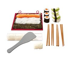 Sada na sushi Sushi, Plastic Cutting Board, Sushi Rolls