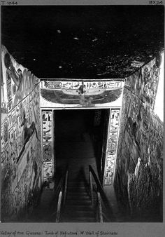 Thebes:  The Photographs of Harry Burton | Excavations | The Met Around the World | Tomb of Nefertari