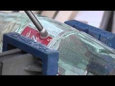 Cómo perforar vidrio?  Esta Fácil! - YouTube