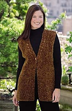 Simple Luxury Vest Crochet
