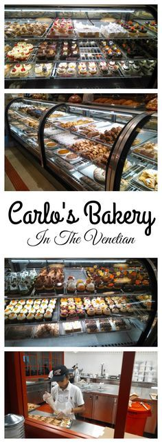 Tasty Treats can be found at Carlo's Bakery of the TV show Cake Boss is in the Venetian.
