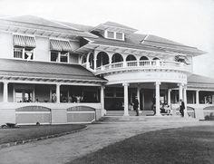 A look back at Hawaii's earliest, most historic hotels | HAWAII Magazine The Haleiwa Hotel on Oahu was considered a country escape. Photo courtesy: Hawaii State Archives