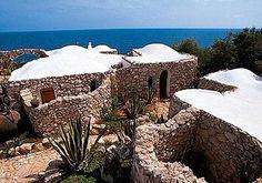Traditional dammuso in pantelleria - Italy