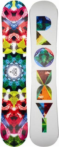 Roxy XOXO PTX Snowboard 30% off! http://www.saltypeaks.com/products/22087/Roxy-XOXO-PTX-Snowboard.html