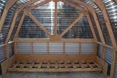 Image result for gambrel greenhouse frame