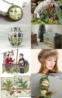 My green creazy Christmas by Gioconda Pieracci on Etsy--Pinned with TreasuryPin.com