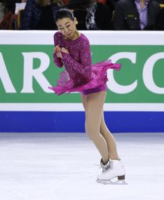 Mao Asada, of Japan, competes during the women's short program in the World Figure Skating Championships, Wednesday, March 31, 2016, in Boston. (AP Photo/Elise Amendola) (903×1104)