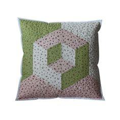 3D ROMANTIKUŠ Throw Pillows, 3d, Handmade, Scrappy Quilts, Toss Pillows, Hand Made, Cushions, Decorative Pillows, Decor Pillows
