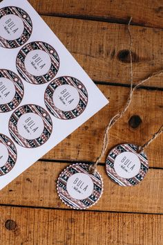 Bula Tags Welcome labels Fiji wedding labels by KamaCatchMe, $7.00