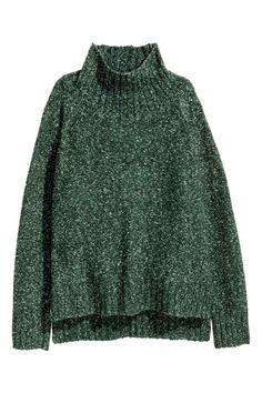 Jersey de punto y cuello alto | H&M