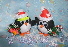 Quilling art décoration de Noël Noël pingouins Noël jouets Noël cadeau de Noël…