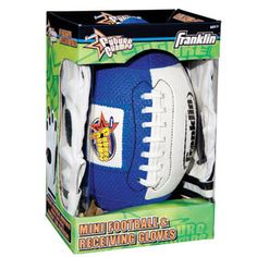 $18.49 - Go Long!• Set includes mini Air Tech® football with youth receiver glove.r• Self-stick areas on the football tips & fingers of gloves make ball easy to catch.r• Ideal for children just learning how to catch a football.Check out all our Boys Toys here!