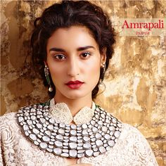 By Amrapali, Jaipur. Shop for your wedding jewellery with Bridelan - a personal shopper & stylist for weddings. Website www.bridelan.com #Bridelan #polki #weddingjewellery #indianjewellery #jadau #amrapali #rosecutdiaomonds #uncutdiamonds