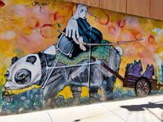 Graffiti in Higuera, Cerro Alegre, Valparaíso, Chile by Kjetilei, via Flickr