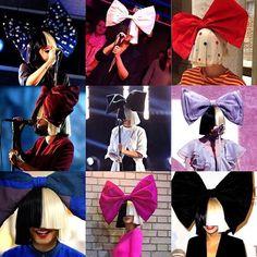 She luvs bows #Sia