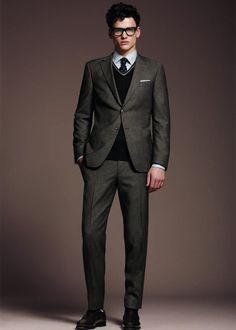 Men...please learn...fitted suits are HOT!