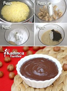 Nutella Recipe, How To . - Female Recipes -Homemade Nutella Recipe, How To . Most Delicious Recipe, Delicious Cake Recipes, Yummy Cakes, Dessert Recipes, Yummy Food, Homemade Nutella Recipes, Donut Recipes, Baby Food Recipes, Nutella Cake
