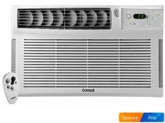 Ar-Condicionado de Janela Consul 12.000 BTUs - Quente/Frio CCZ12DBBNA com Controle Remoto