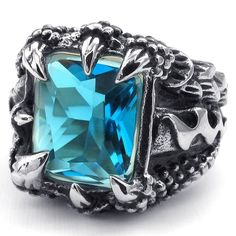 Dragon Claw Ring #dragon #ring #jewelry DragonClothing.net