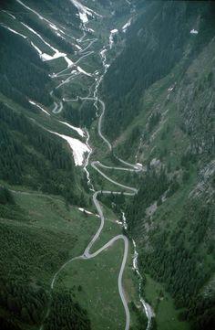 Silvretta Hochalpenstraße, Tyrol Austria