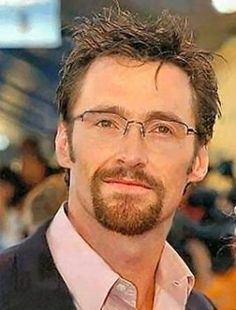 Once upon a time, Hugh Jackman was just an unripe little grape from below the equator.Here he is in prior to his X-Men fame. Hugh Jackman, Hugh Michael Jackman, Celebrities With Glasses, People With Glasses, Famous Men, Famous Faces, Famous People, Lois Lane, X Men