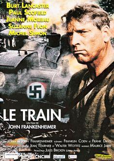 THE TRAIN - Burt Lancaster - Directed byJohn Frankheimer - Movie Poster.