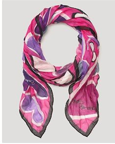Anna Coroneo Hearts Scarf available now @Bloomingdale's