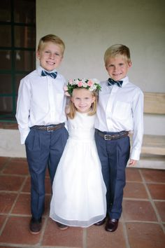 if i did do ring bearer, l like the little bow tie, navy pants!