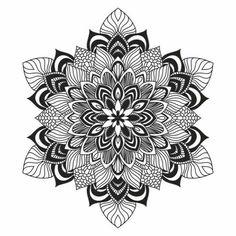 Tattoo back ground idea: Contemporary celtic knot doily round lace floral pattern card, circle, mandala, amulet - stock vector Mandala Art, Mandala Drawing, Mandala Pattern, Zentangle Patterns, Mandala Tattoo, Zentangles, Mandala Coloring Pages, Colouring Pages, Adult Coloring Pages
