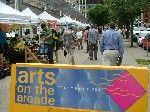 ARTS ON THE ARCADE • 11am-5pm • through August 29 • Samuel Adams Park (Faneuil Hall at Congress Street) • cityofboston.gov/arts/visual/artmart.asp