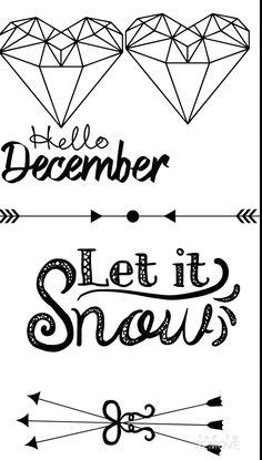 #snow #december