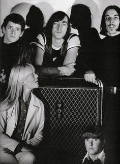 The Velvet Underground:  Lou Reed, Sterling Morrion, John Cale, Nico and Maureen Tucker.