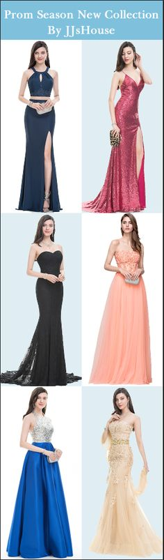Long Party Dresses Prom Season Collection on sale now! of Styles, 32 colors, your size. Shop Now - Winter is here, and with it the latest fashion trends Prom Dresses 2018, Grad Dresses, Ball Dresses, Bridesmaid Dresses, Formal Dresses, Wedding Dresses, Pretty Dresses, Beautiful Dresses, Short Hairstyle
