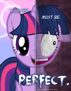 MLP - Two Sides of Twilight Sparkle by *TehJadeh on deviantART