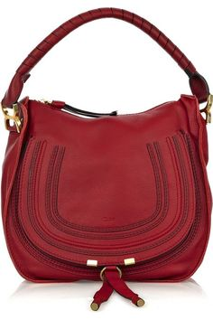 Chloe Marcie small leather hobo bag